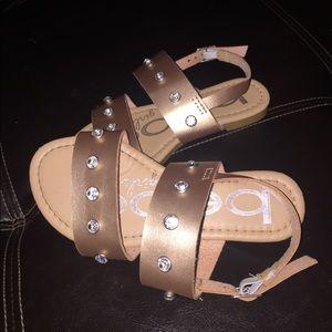 Bebe girls sandals adorbs!!!!